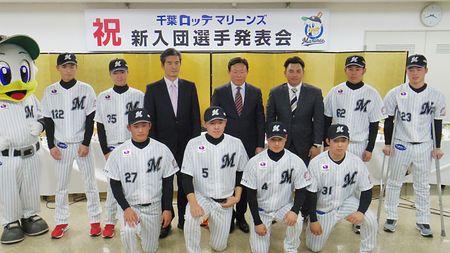 【NEWS】ロッテ新入団の波乱万丈ルーキーズ七人衆!