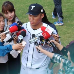 """【NEWS】台湾の""""大王""""獲りへ本腰 MVP&3冠王 ラミゴ・王柏融 : スポーツ報知"""